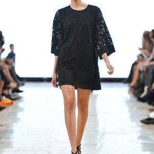 Narces Jonna laser cut dress size 8 LBD